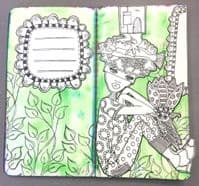Dylusions - Rubber Stamps - Don't, Won't, Can't